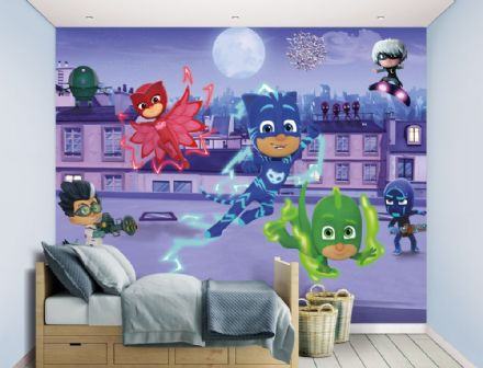 PJ Masks Wall Mural wallpaper